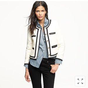 Jcrew Fanfare jacket in felted wool